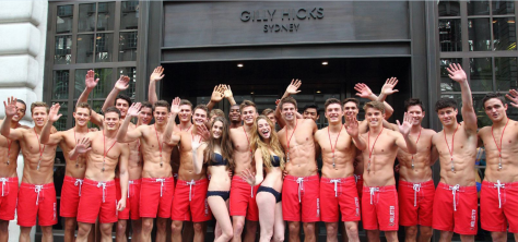 Hollister and Gilly Hicks pre-opening promotional event 3